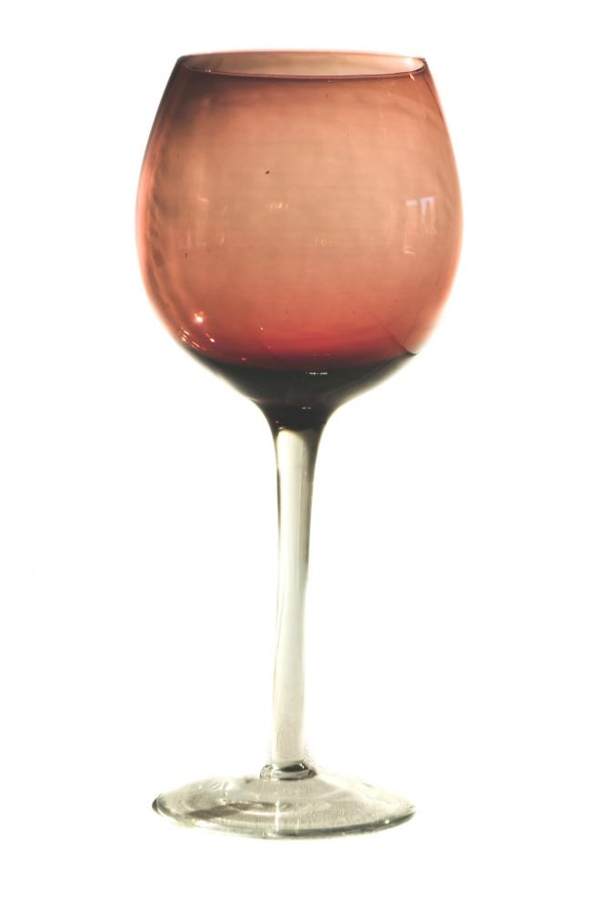 Taça de Água Rosê / Lilás