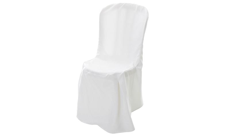Capa de Cadeira Branca Completa