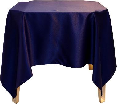 Toalha Quadrada Azul Marinho