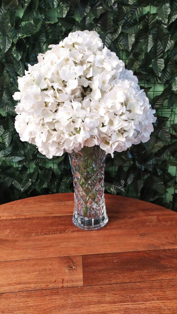Buque hortencia branca
