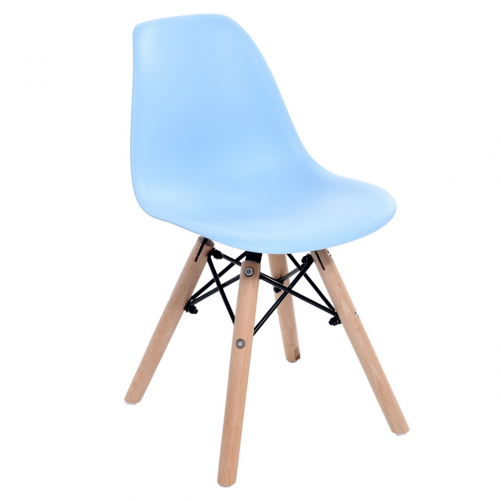 Cadeira charles kids azul bebê