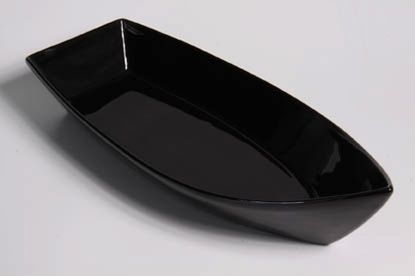Barca de Porcelana Preta  49X18