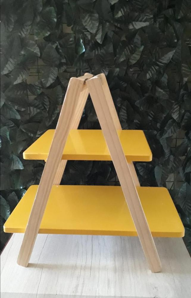 Escada de Mesa Amarela 48x28