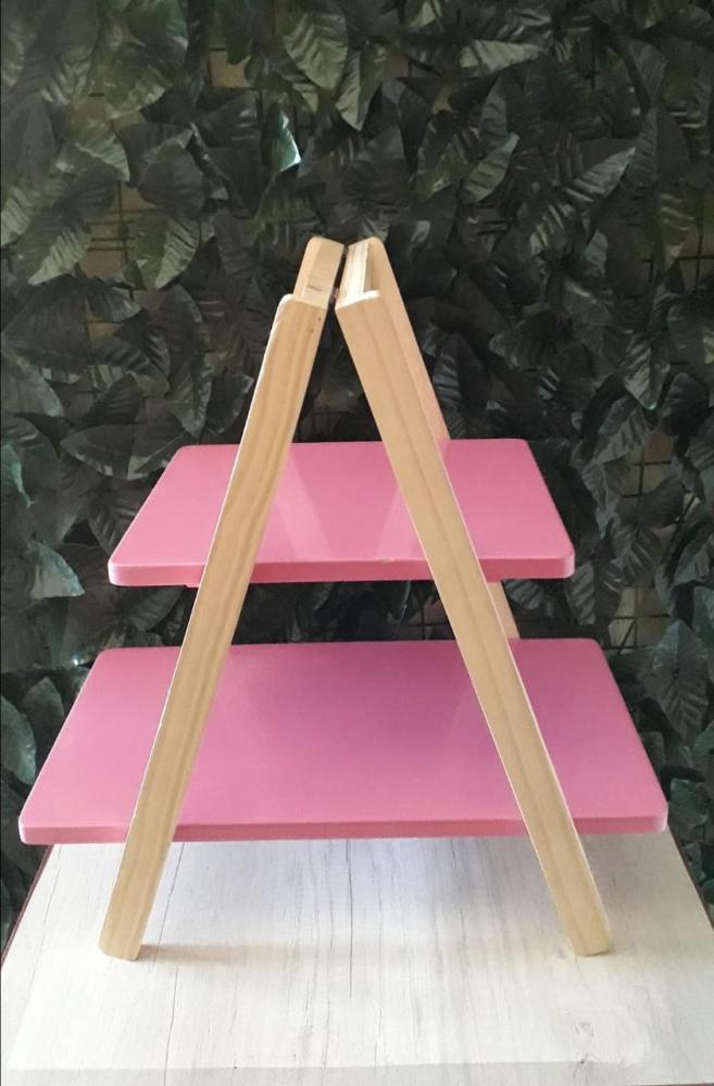 Escada de Mesa Rosa Pink 48x28