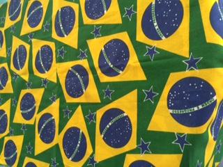Toalha Quadrada Brasil