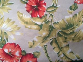 Toalha Quadrada Floral Bananeira