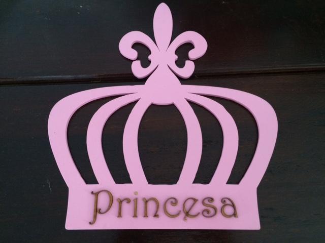 Princesa - Placa Decorativa