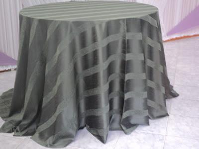 Toalha Redonda de 10 Lugares Verde Musgo (Green)