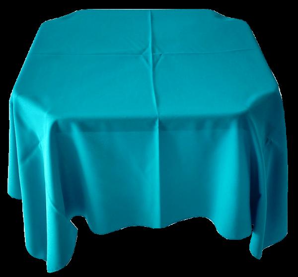 Toalha Quadrada Azul Turquesa