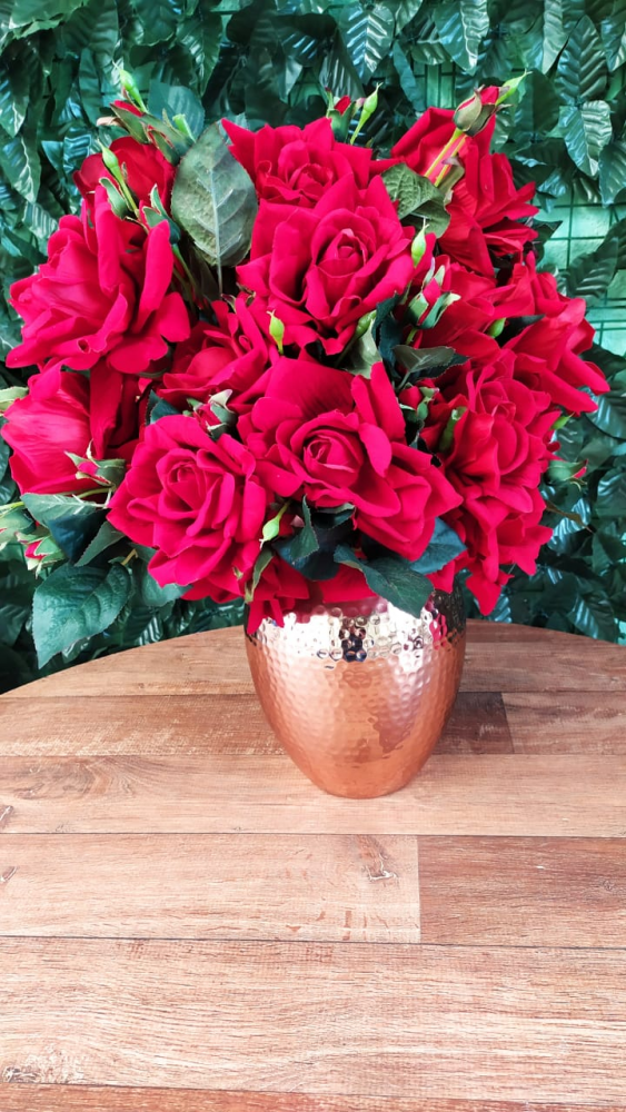 Flores rosa vermelha colombiana