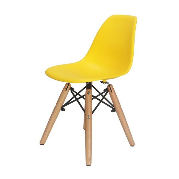 Cadeira charles kids amarela
