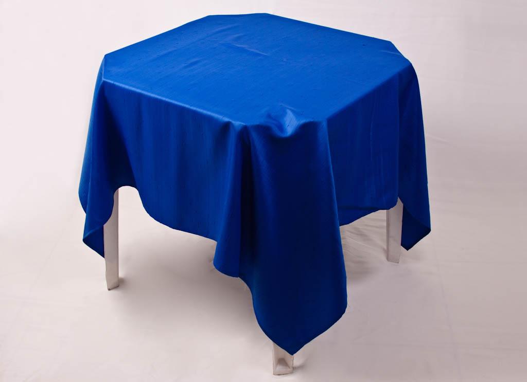 Toalha Quadrada Azul Royal