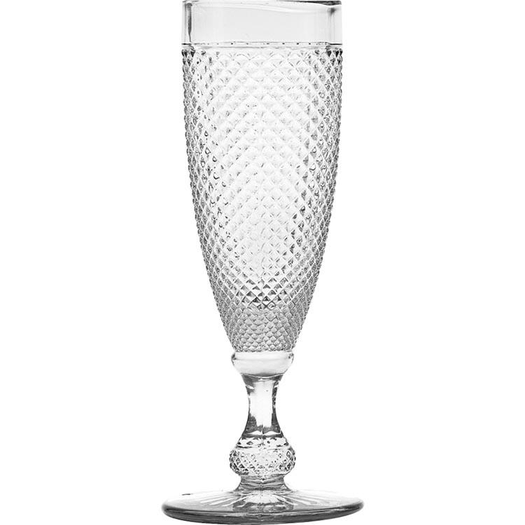 Taça Bico de Jaca Transparente