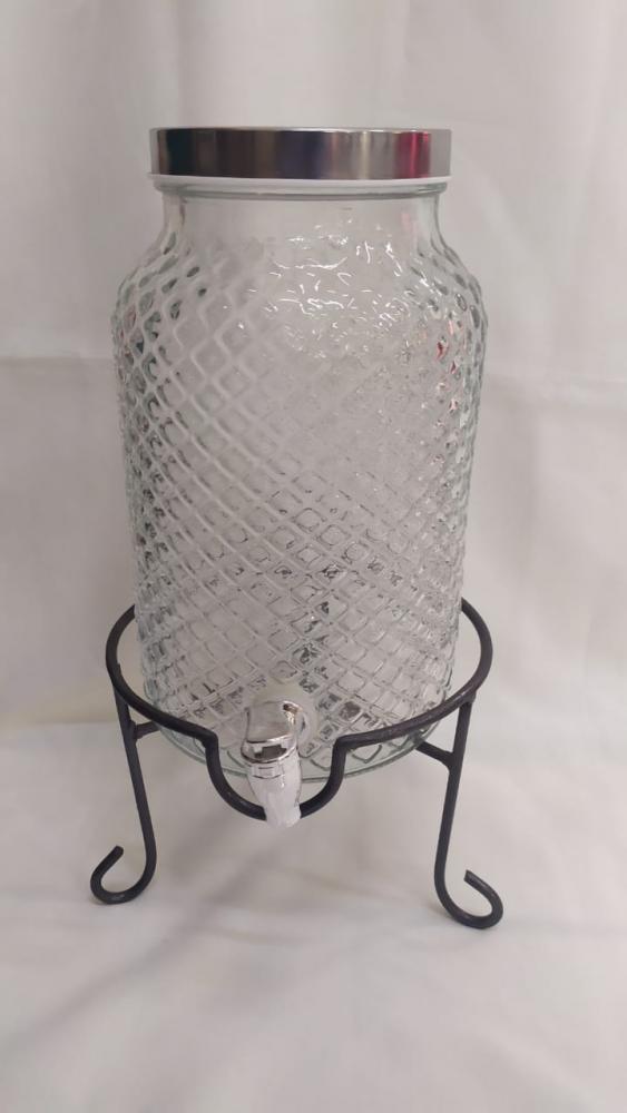 Suqueira de vidro bico jaca transparente
