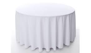 Toalha Redonda de 06 Lugares Branca