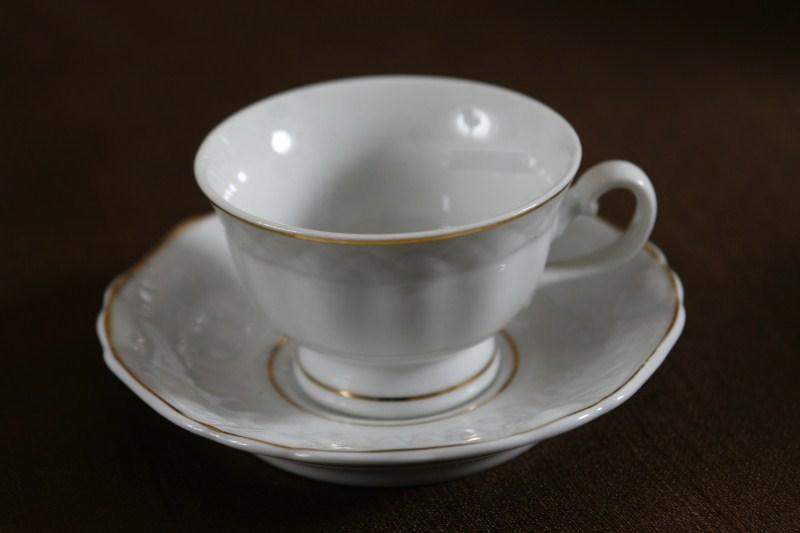 Xícara de Chá Filetada