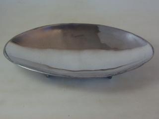 Travessa Alumínio Polido Oval Funda