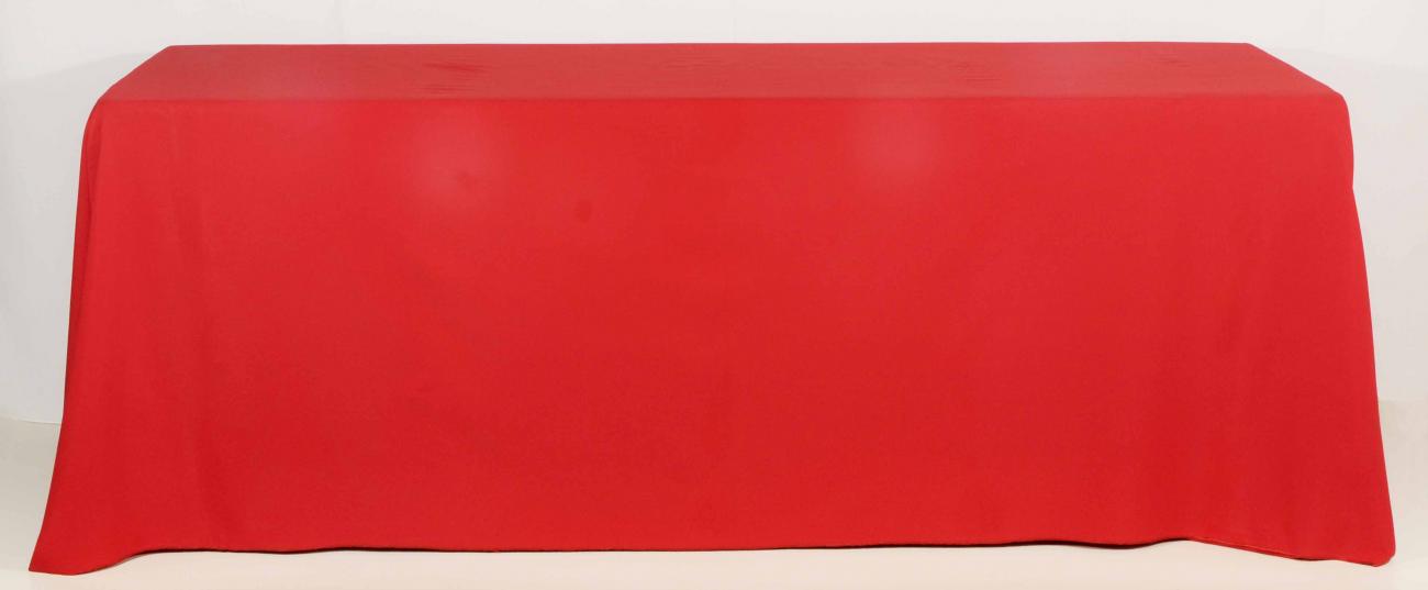 Toalha de Banquete Vermelha