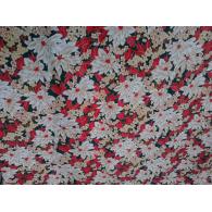 Toalha Quadrada Natalina Floral