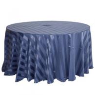 Toalha Redonda de 10 Lugares Azul Jeans