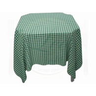 Toalha Quadrada Xadrez Verde